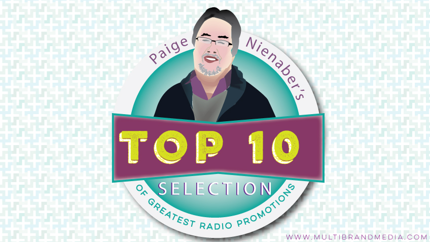 Paige Nienaber's top 10 selection of greatest radio promotions of all time