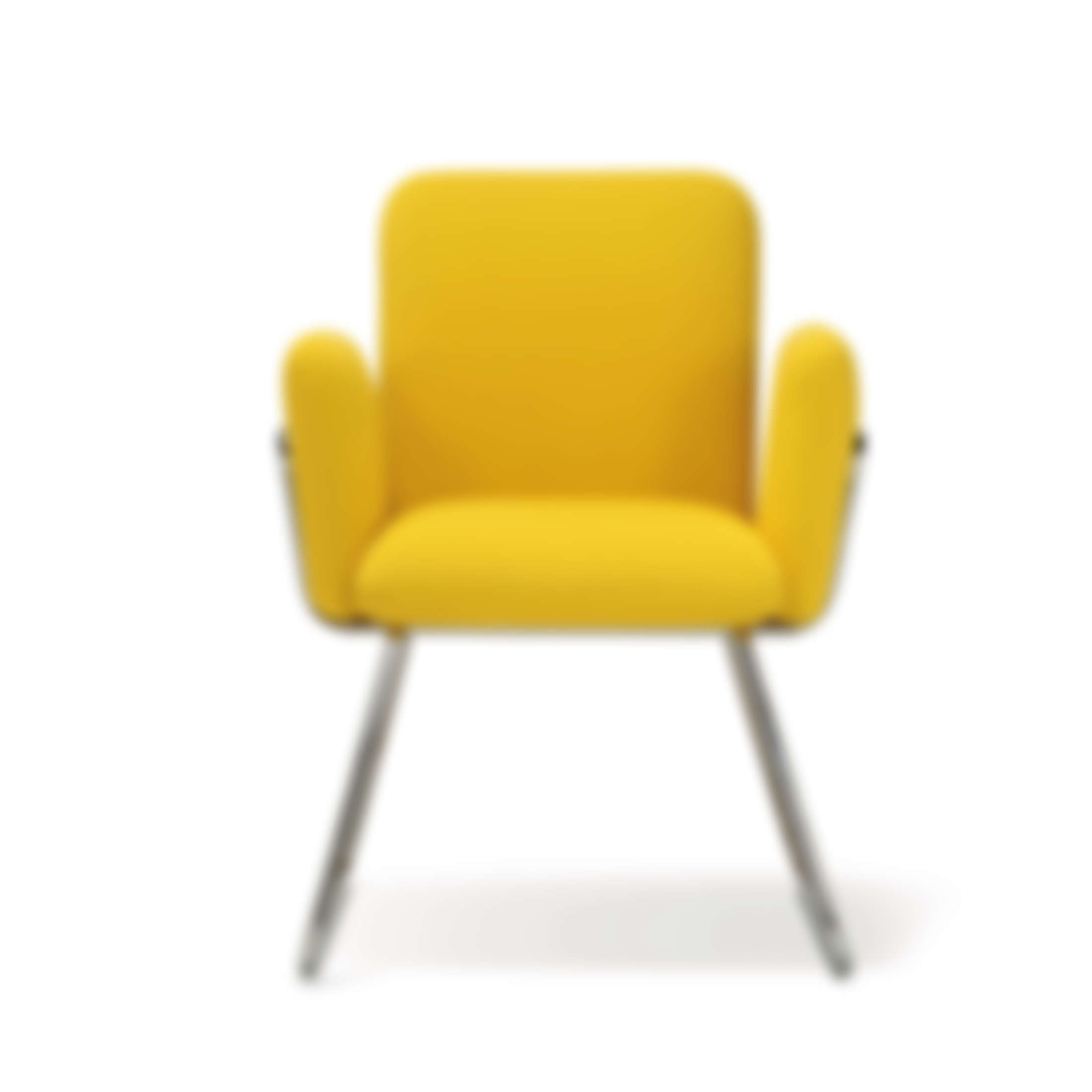 yellow upholstered dining chairs outdoor wedding living contemporary slurp chair
