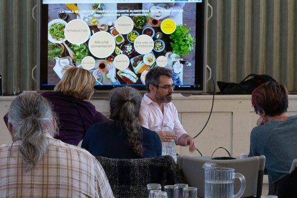 Événement : Présentation de La table de concertation sur la sécurité alimentaire de Côte-des-Neiges.