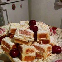 גביניות עם דובדבנים ושוקולד לבן / קארין שטיינברג