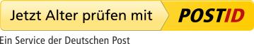 Jetzt Alter nachweisen mit POSTIDENT. Ein Service der Deutschen Post
