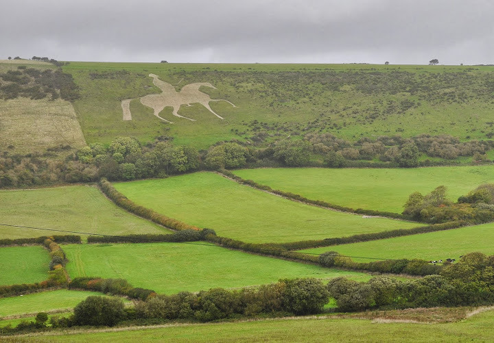 Osmington White Horse near Weymouth, Dorset (Fot. Marta El Marakchi © All rights reserved)