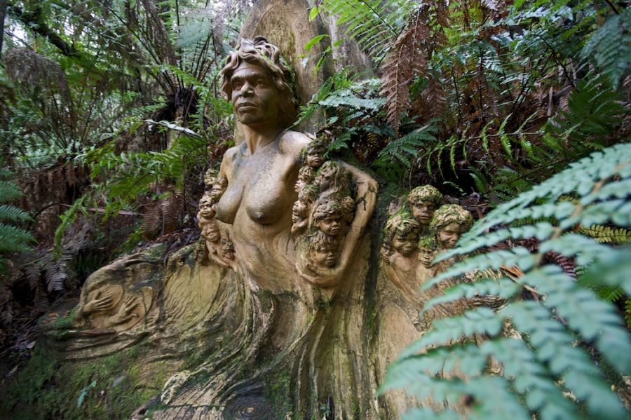 Australia, Aborygeni, William Ricketts Sanctuary (Fot. Yewenyi / Foter)