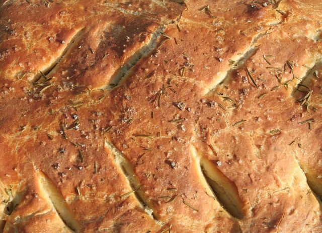 Fougasse (Fot. Sharon Mollerus / Flickr)