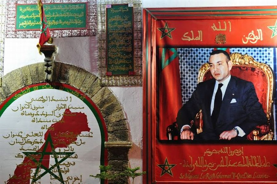 Król Mohammed VI (Fot. Marta El Marakchi © All rights reserved)