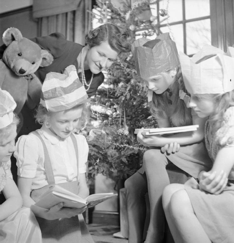 The British Tradition Of Wearing Paper Crowns On Christmas