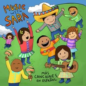 Mas Canciones en Espanol - Music with Sara - Hispanic Heritage Month Blog Hop