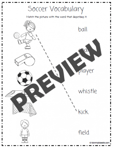 World Soccer Cup 2014 Activity Pack for Kids {Pre-K thru