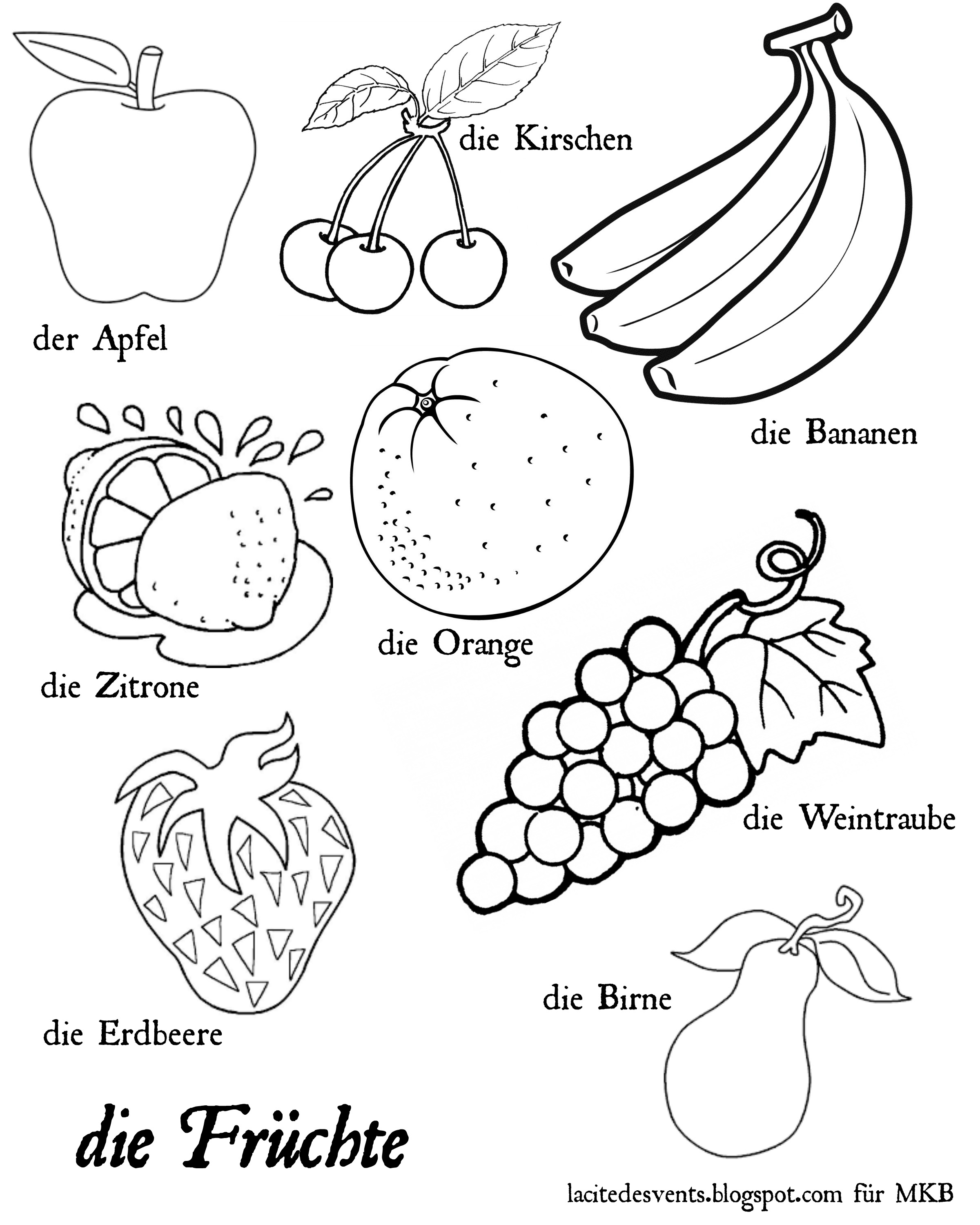 Multilingual Printables: Fruits and Vegetables in 7 Languages