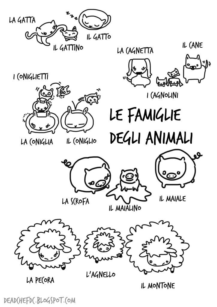 Multilingual Animal and Babies Printables