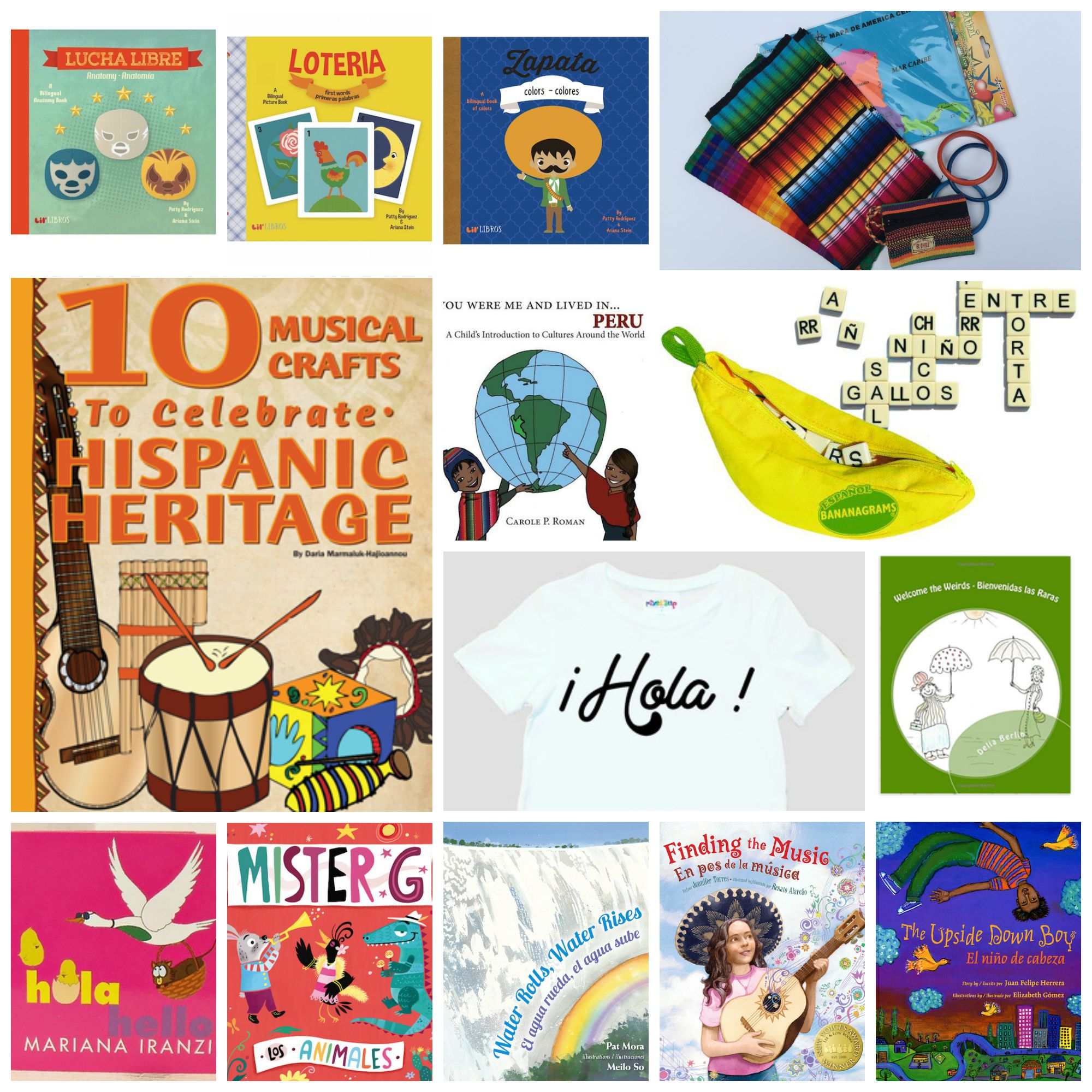 Hispanic Heritage Month Activities And Giveaway