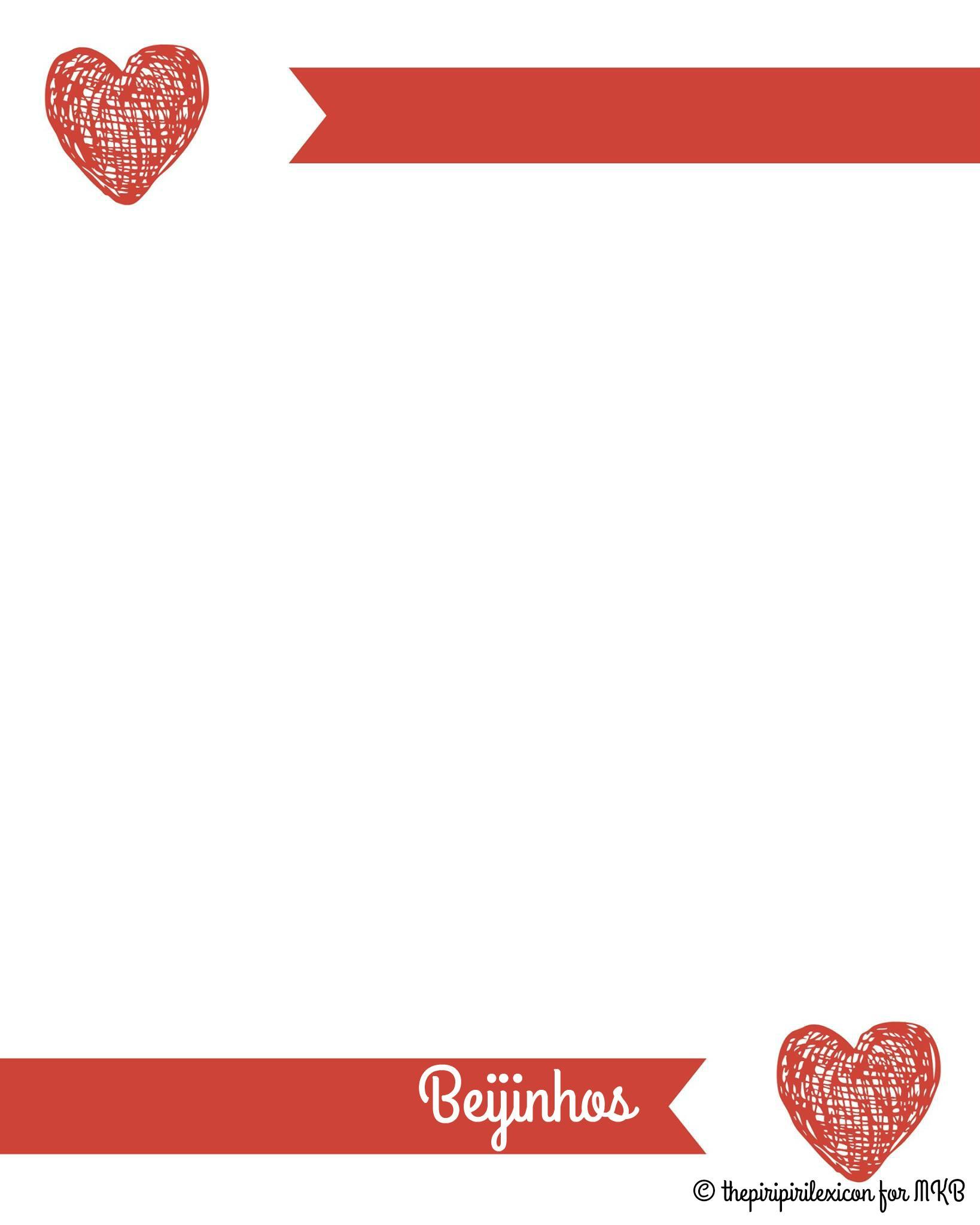 Valentine S Day Printable Multilingual Love Letter