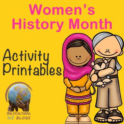 Women's History Month Activity Printables
