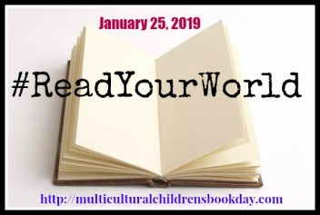 Use #ReadYourWorld on January 25, 2019 for Multicultural Children's Book Day
