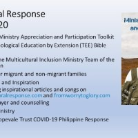Speaking at WSBC Part 2 - Revisiting Multicultural Response Ministry 2020