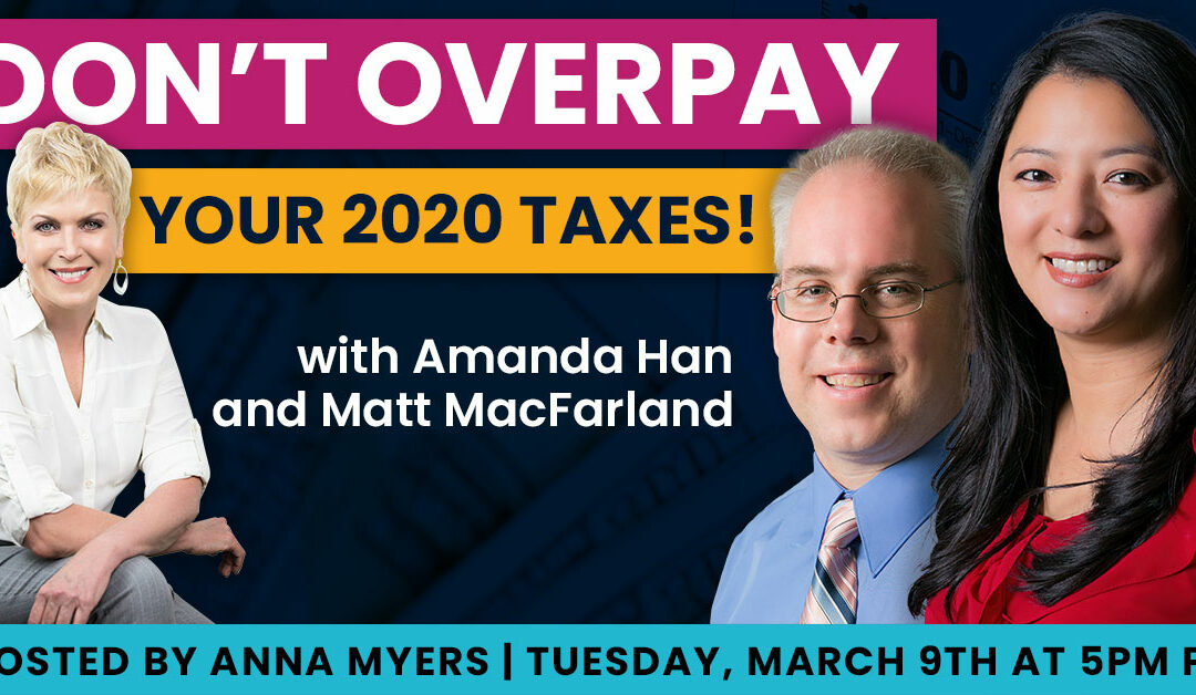 Don't Overpay Your 2020 Taxes!
