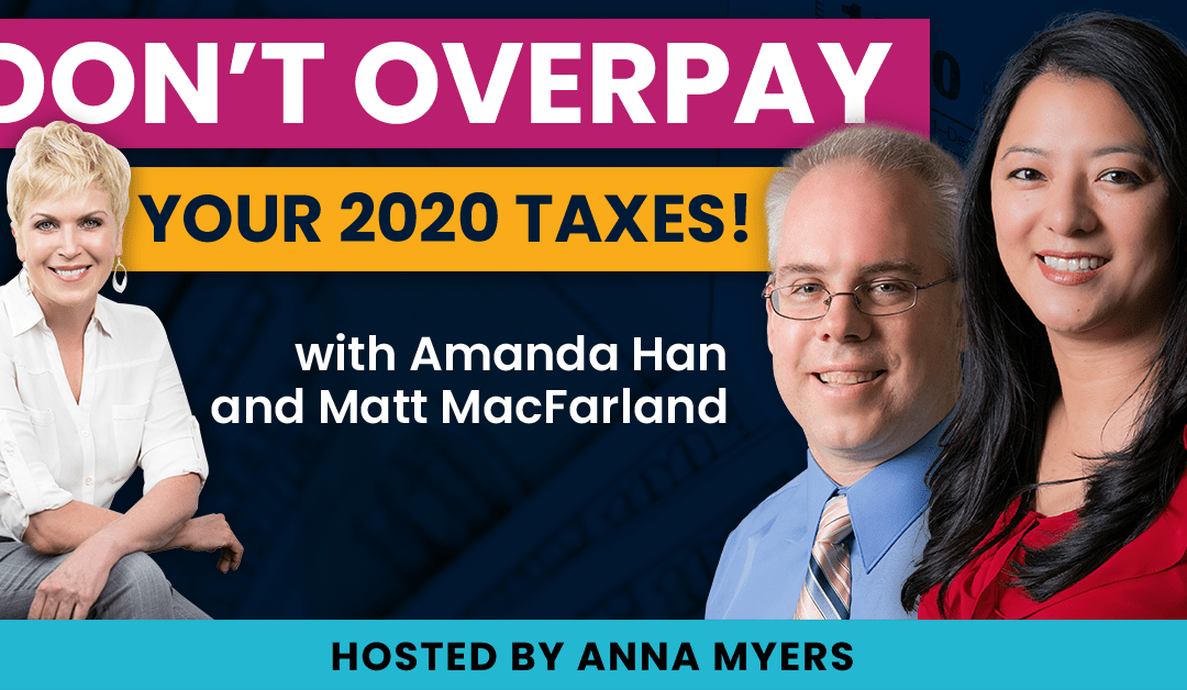 Webinar Replay – Don't Overpay Your 2020 Taxes – 2021-03-09