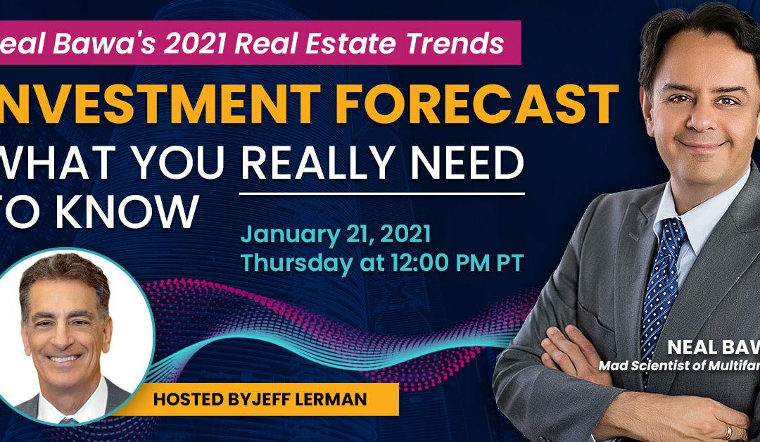 Webinar Replay – 2021 Real Estate Trends – 2021-01-21