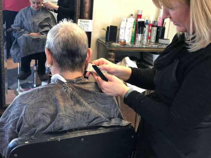 on the lookout: hairdressers keep eye out for cancer