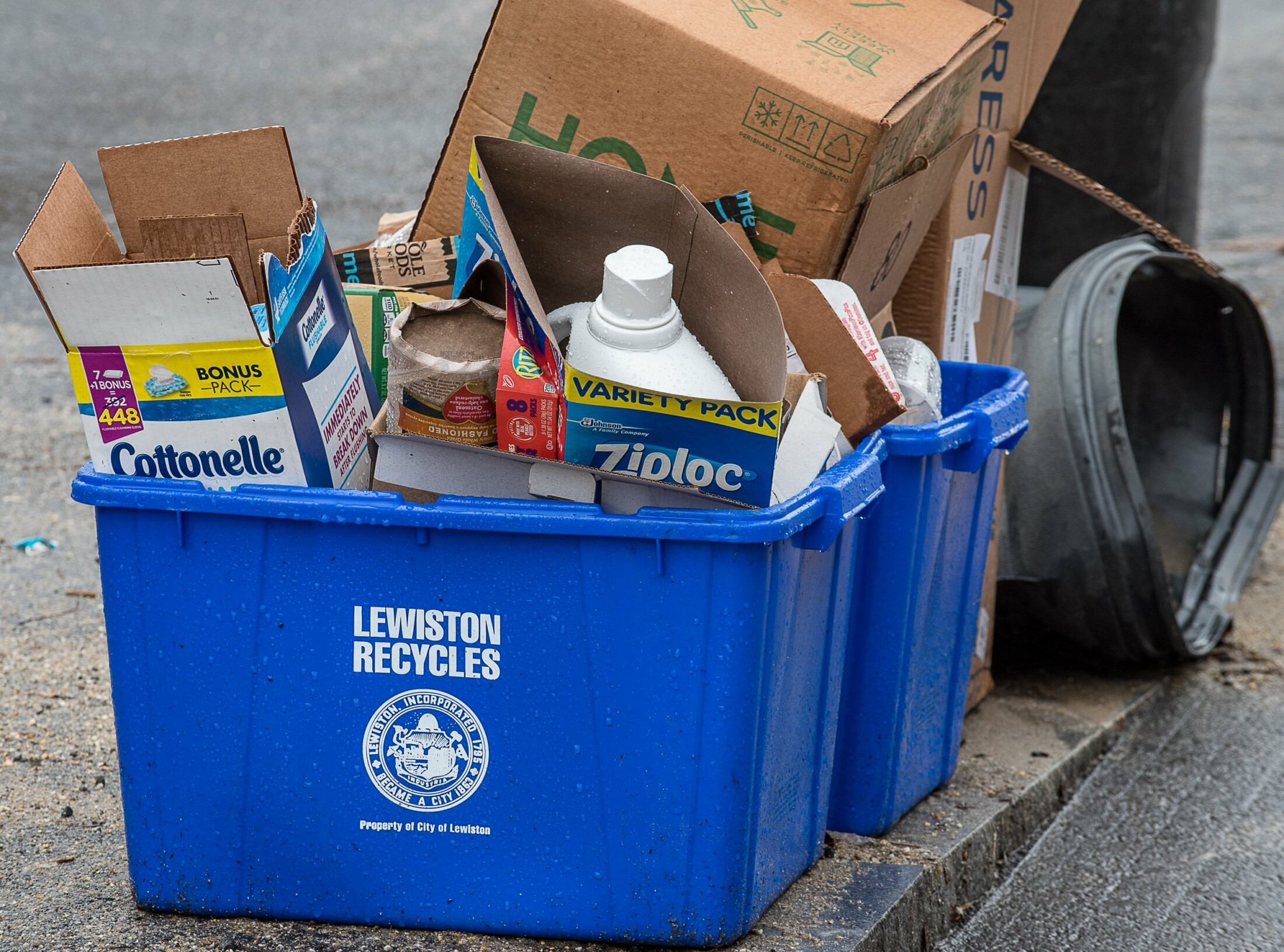 What can and can't be recycled through Ecomaine - CentralMaine.com