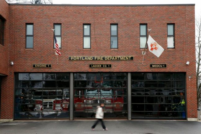 Portland firefighters trying to rescue Munjoy Hill station's Engine