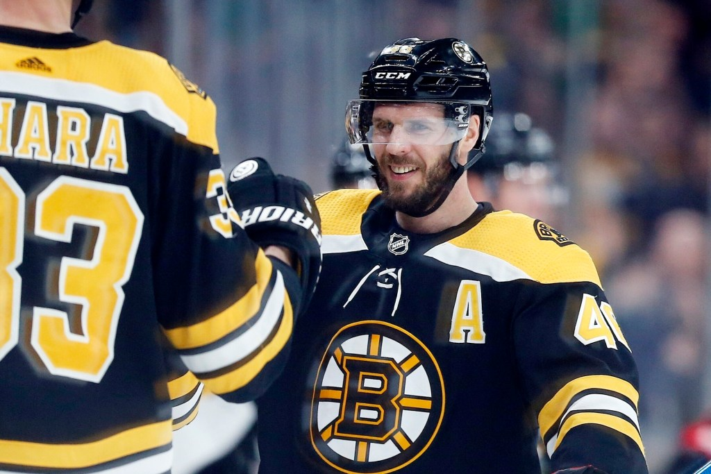 It is unclear who will play right wing next to center David Krejci when the Bruins open the Stanley Cup playoffs against Toronto on Thursday.