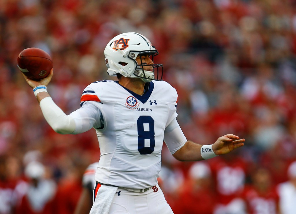 Jarrett Stidham has a lot of the qualities the Patriots look for in a quarterback, which is why they selected the Auburn's Jarrett Stidham in the fourth round.