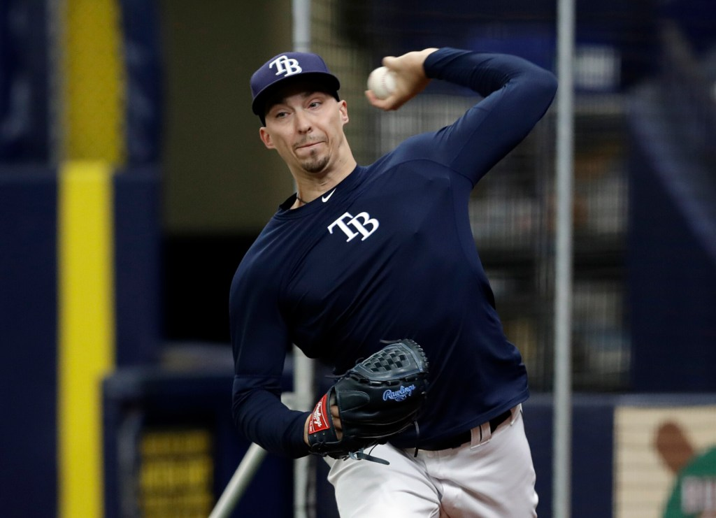 Tampa Bay starting pitcher Blake Snell will return from the injured list and start against the Kansas City Royals on Wednesday. Snell was out with a broken toe.