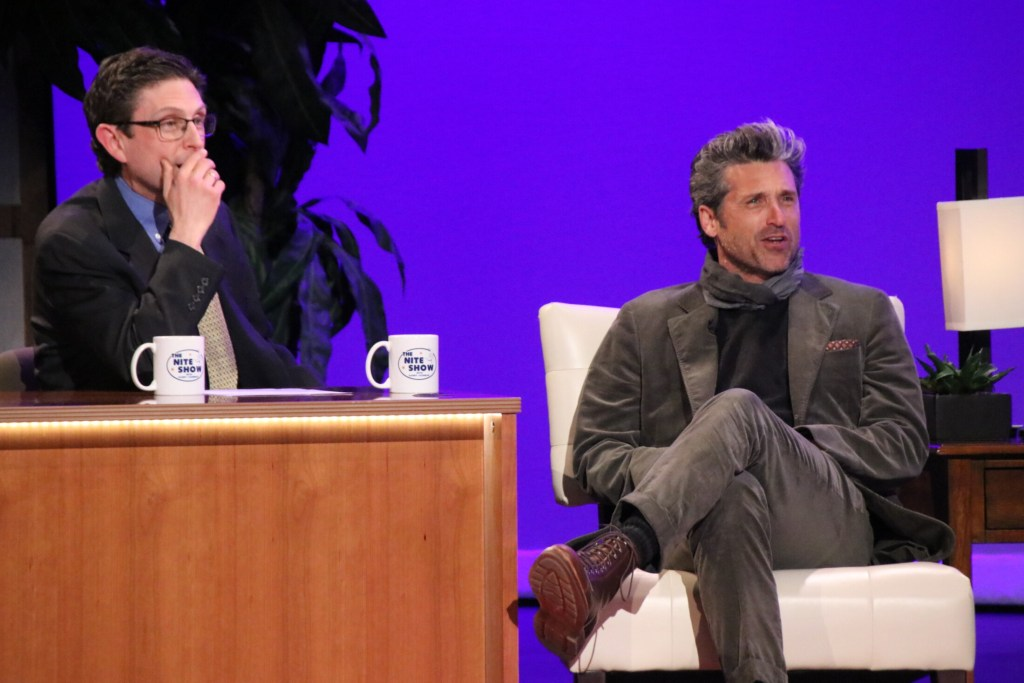 Patrick Dempsey Wows Audience At The Nite Show Taping In Sanford