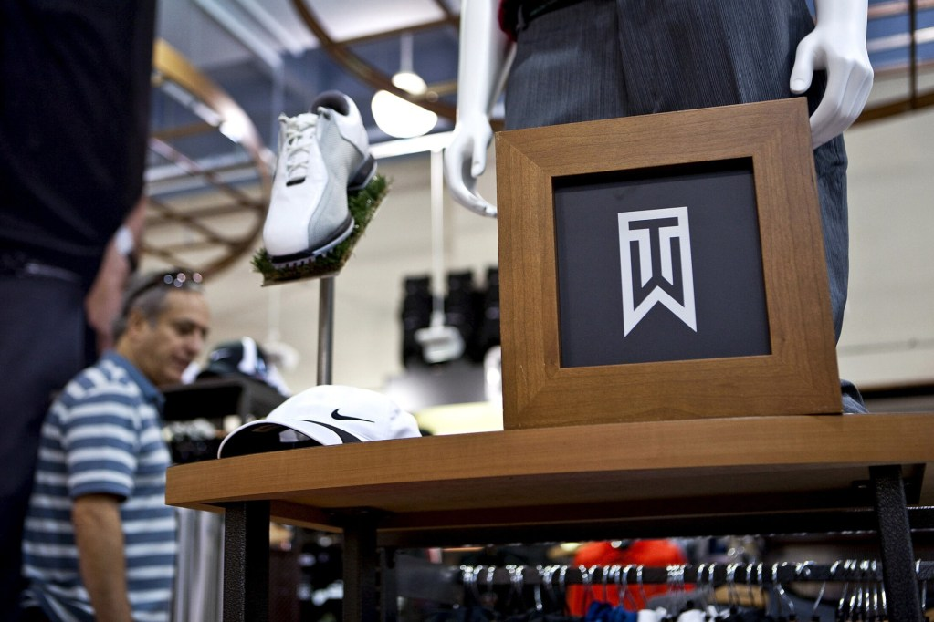 Nike Tiger Woods Collection golf apparel in 2010.