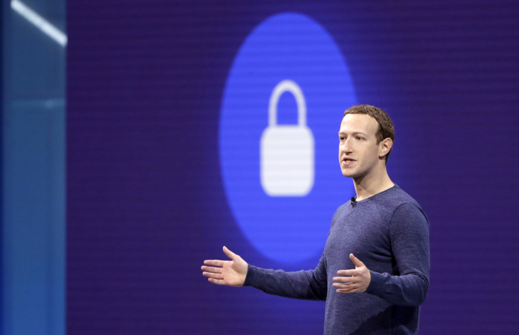 CEO Mark Zuckerberg has had to defend Facebook against accusations that it has mishandled private information.