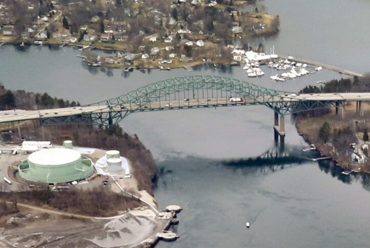 The Piscataqua River Bridge, which connects Kittery and Portsmouth, New Hampshire, carries about 74,000 vehicles daily. The upcoming construction will include resurfacing, fixing electrical and structural components, and possibly converting breakdown lanes into additional travel lanes for peak travel times.