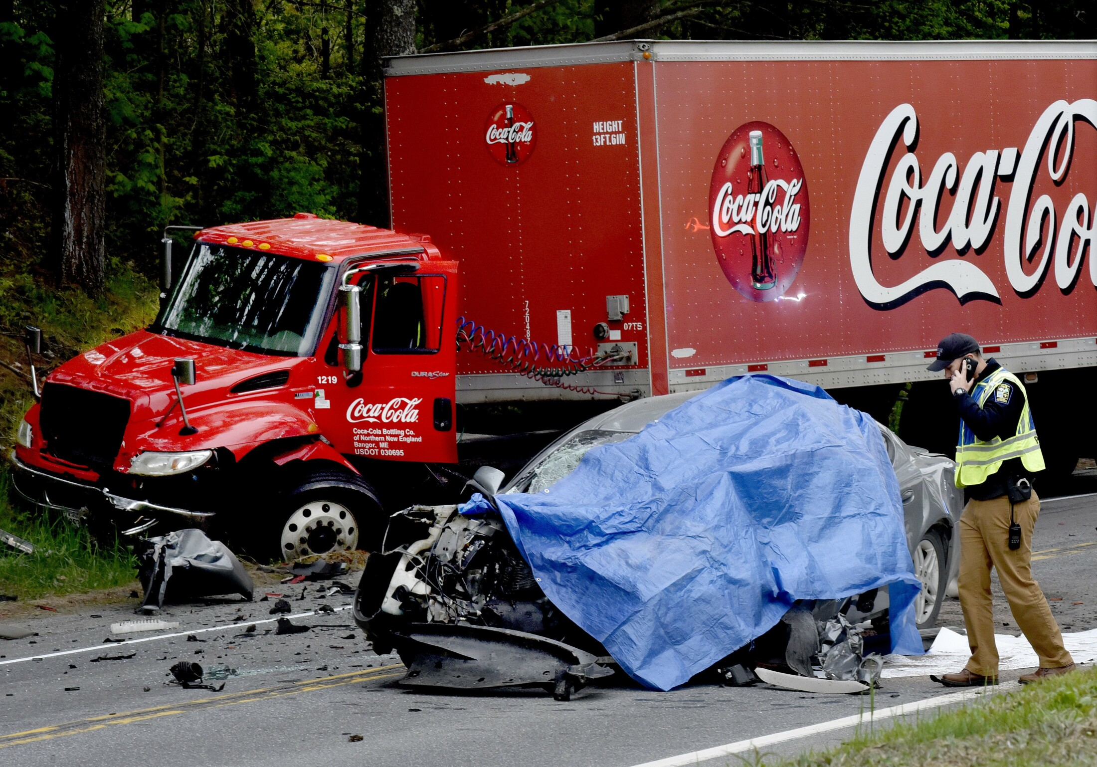 One Dead In Head On Accident On Us Route 2 In Skowhegan