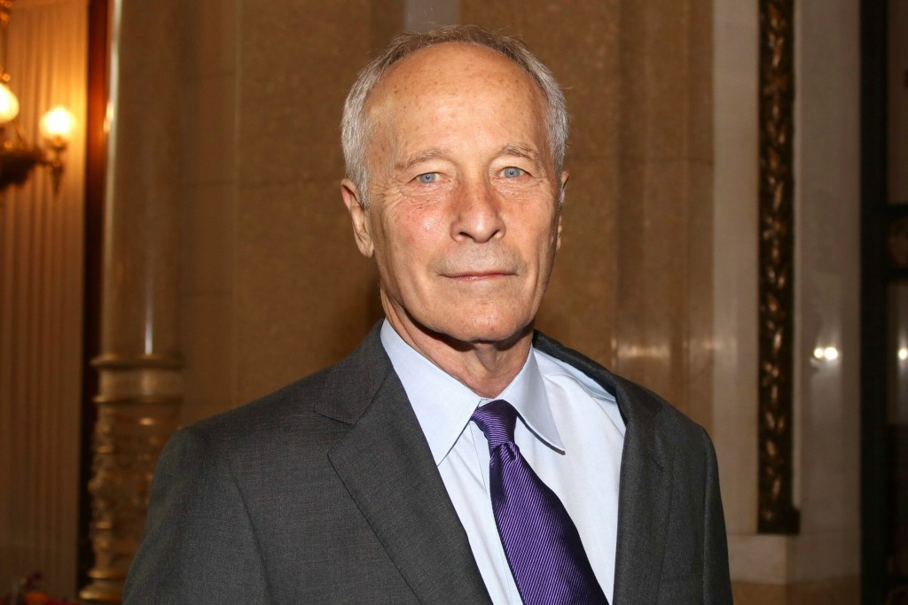Richard Ford at the award ceremony for the Siegfried Lenz Prize 2018 in Hamburg City Hall, Sept. 27, 2018.