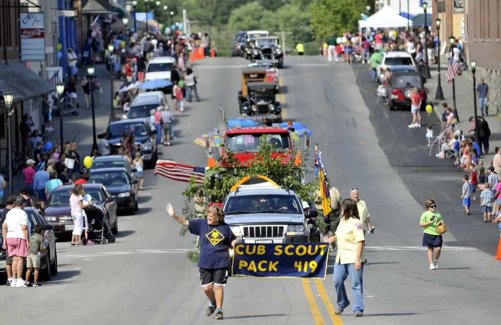 The Madison-Anson Days Parade files down Main Street in Madison on Aug. 27, 2011.