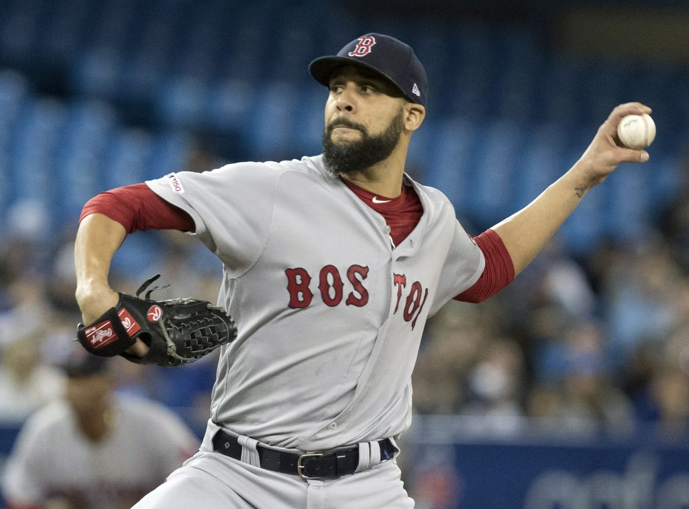 Red Sox pitcher David Price returned from the injured list to pitch five inning in Boston's 12-2 win over Toronto on Monday. Price didn't allow an earned run in five innings.