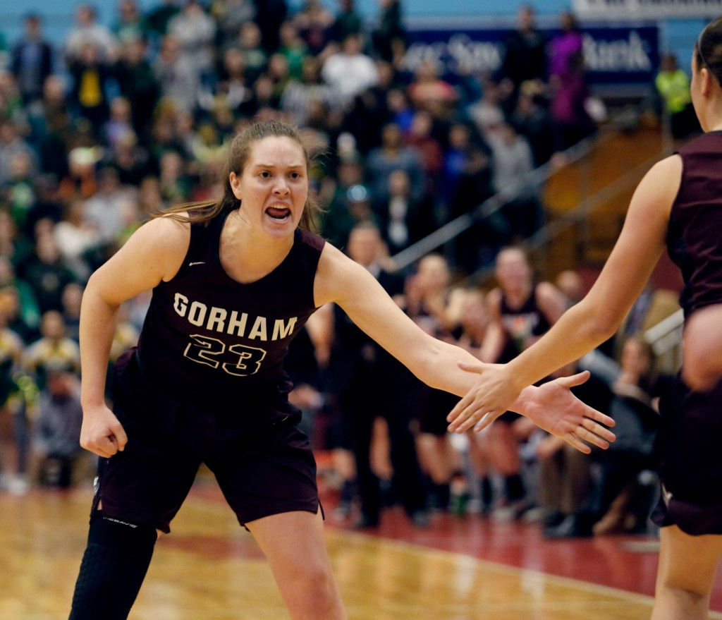 While at Gorham High, Emily Esposito led the Rams to Class AA state championships as a junior and senior.