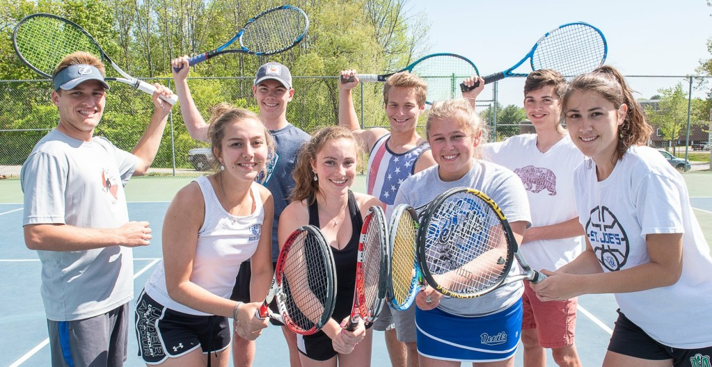 H S  tennis: Doubles key to Lewiston boys' and girls' success