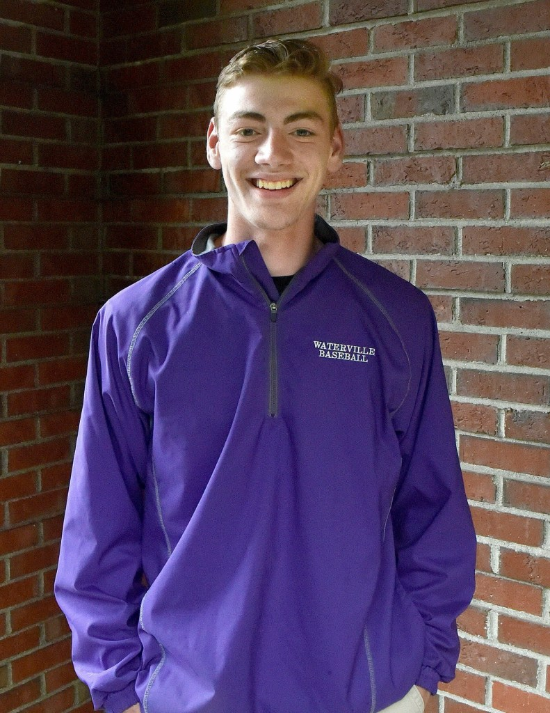 Waterville's David Barre is the Morning Sentinel Baseball Player of the Year.