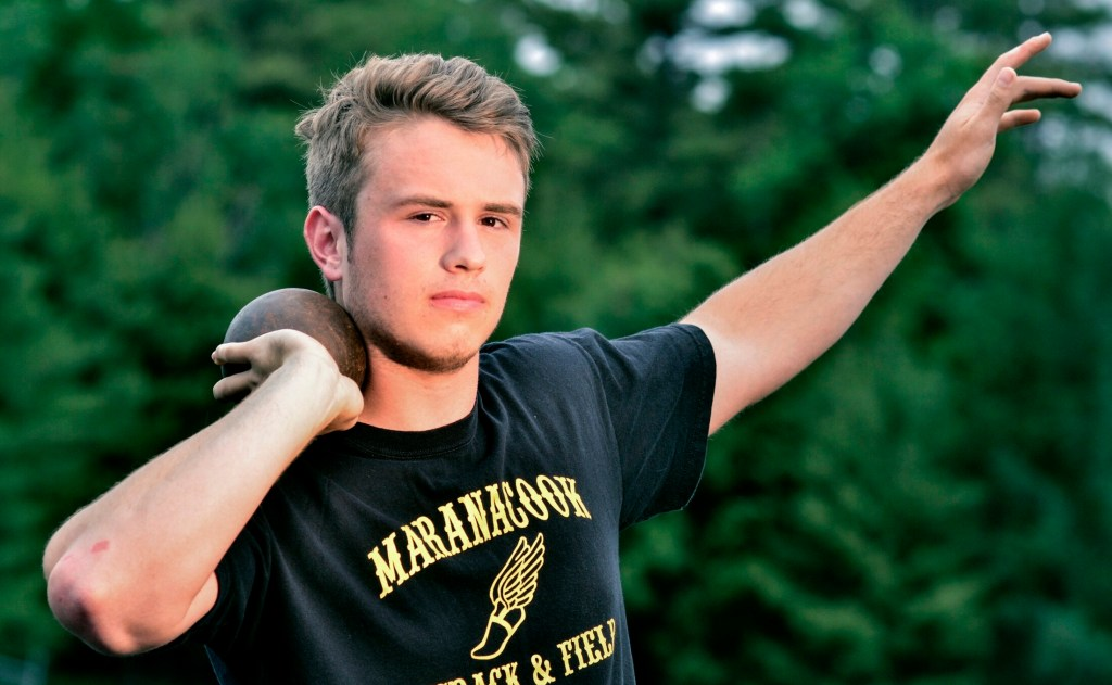 Maranacook's Ryan Worster is the Kennebec Journal Boys Track and Field Athlete of the Year.