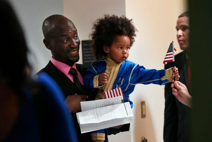 Dozens of Mainers from around the world become U S  citizens in