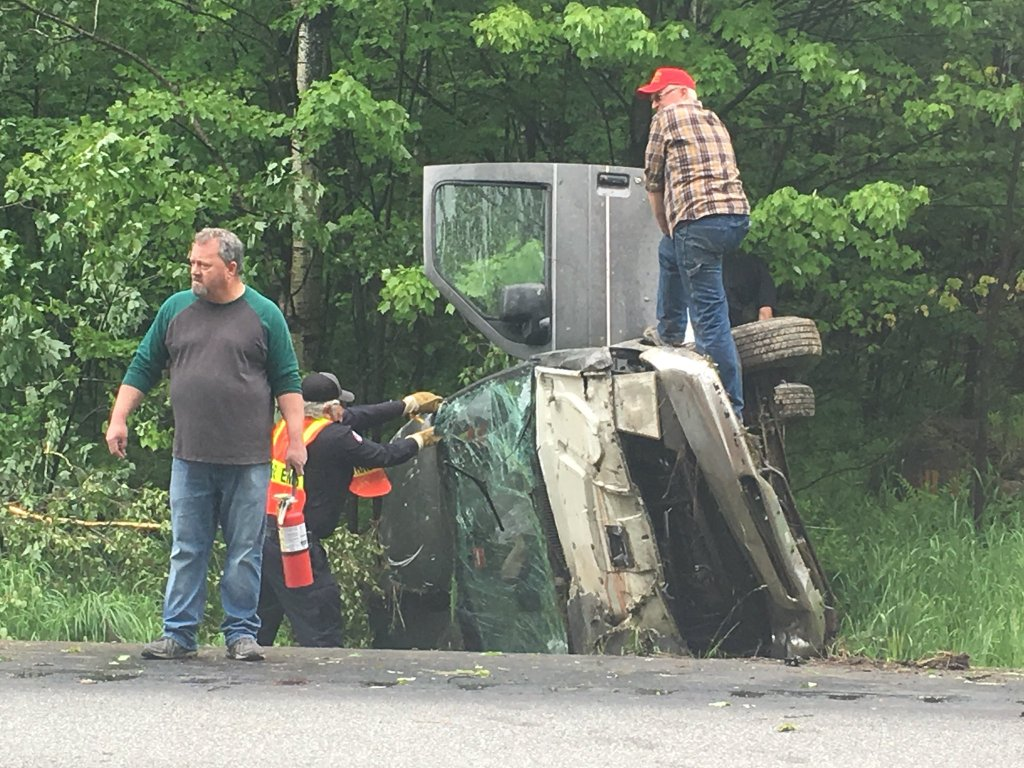 Kingfield man, 68, dies from injuries suffered in Turner rollover