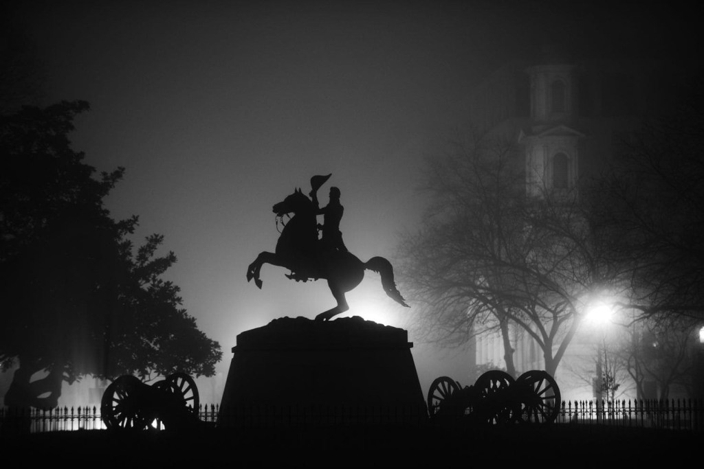 The statue of Andrew Jackson in Lafayette Square near the White House. Astrid Riecken/The Washington Post