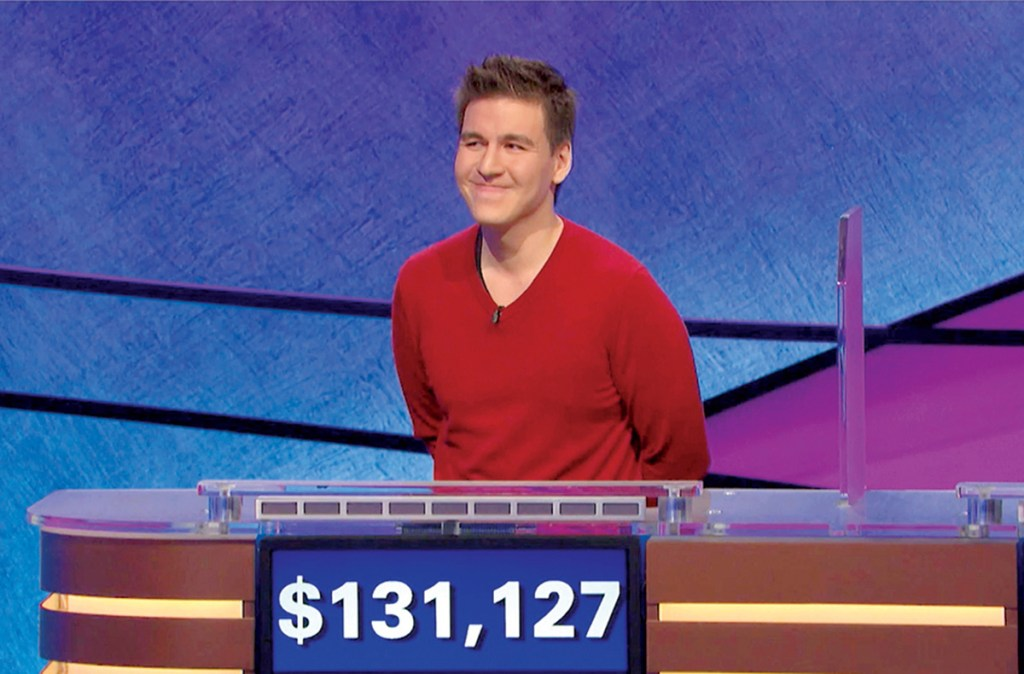 """Jeopardy!"" powerhouse James Holzhauer earlier in his run."