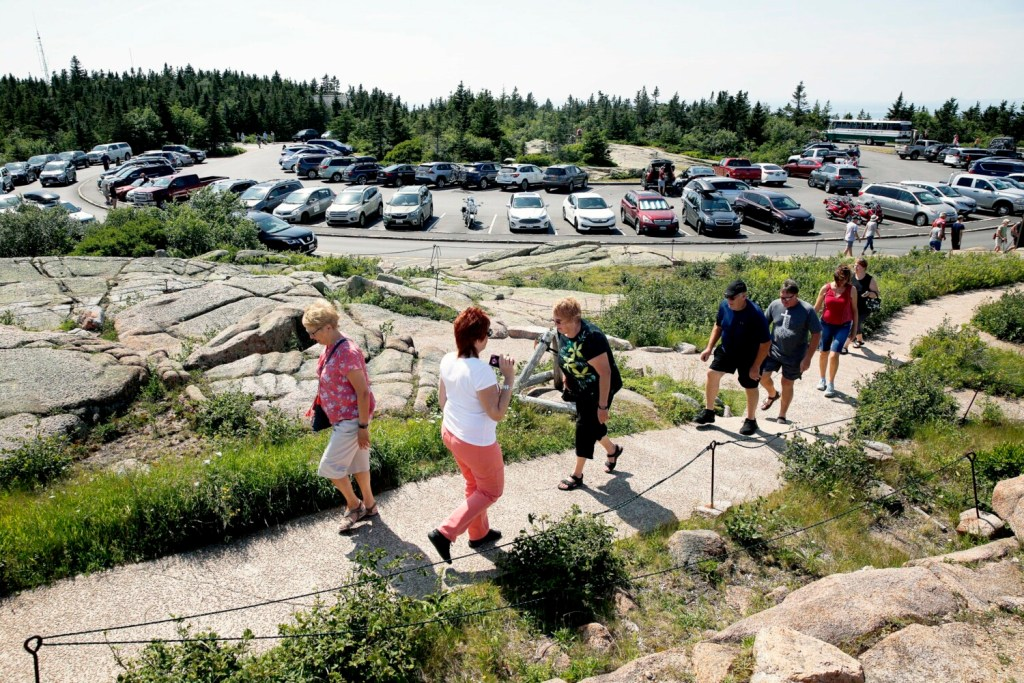 At visitor-saturated Acadia park, few places to park | Lewiston Sun Journal