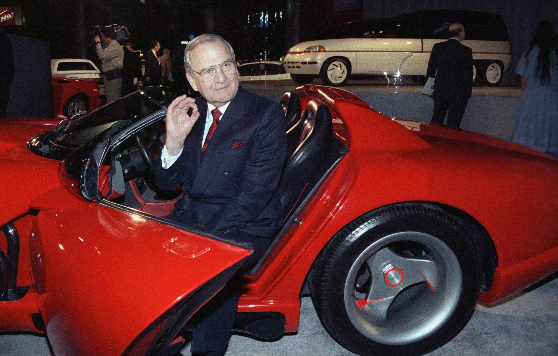 Lee Iacocca, high-profile auto executive credited with saving