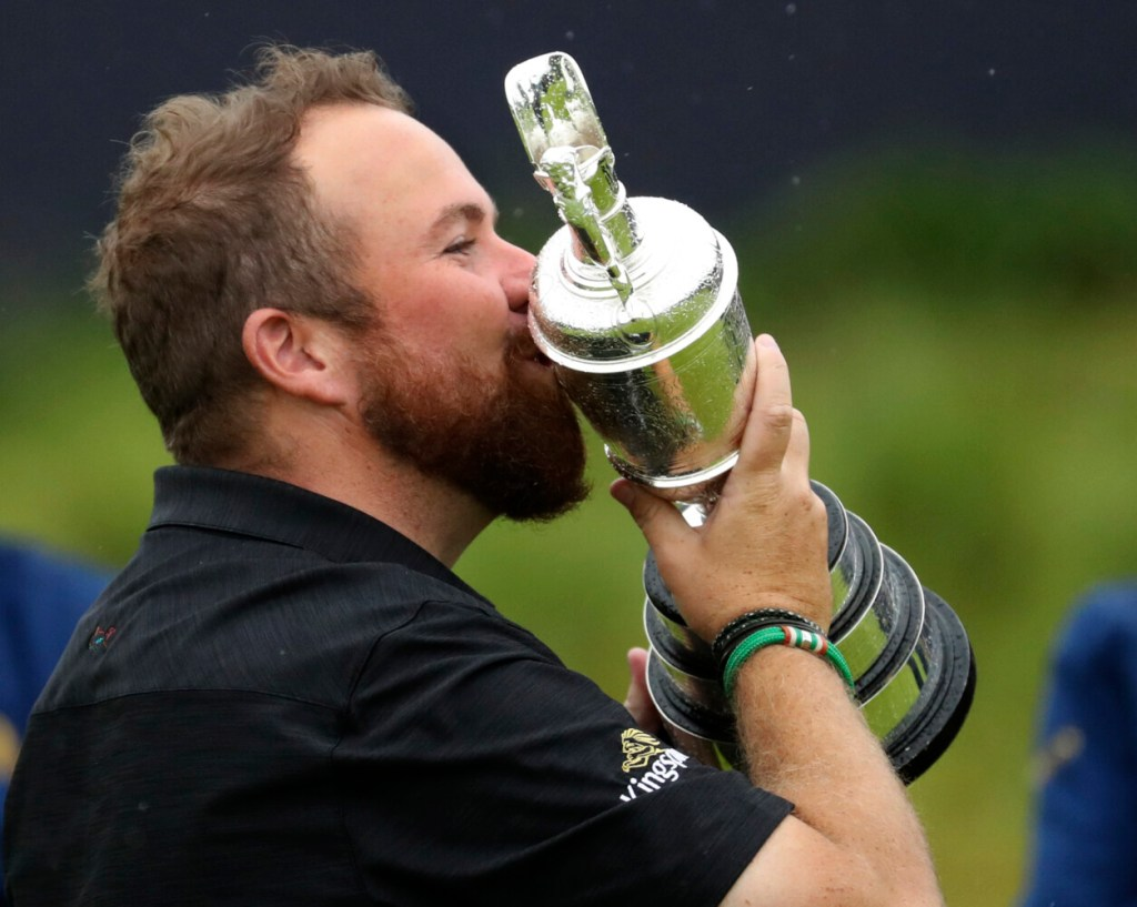 "Shane Lowry said of the Claret Jug, ""I can't believe this is mine."" Well, it is. Lowry won the British Open in its return to Northern Ireland, finishing six shots in front of Tommy Fleetwood."