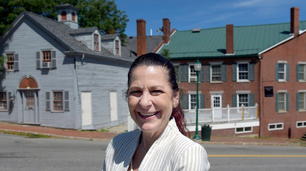 Tracey Steuber started Monday as Gardiner's new economic development director.