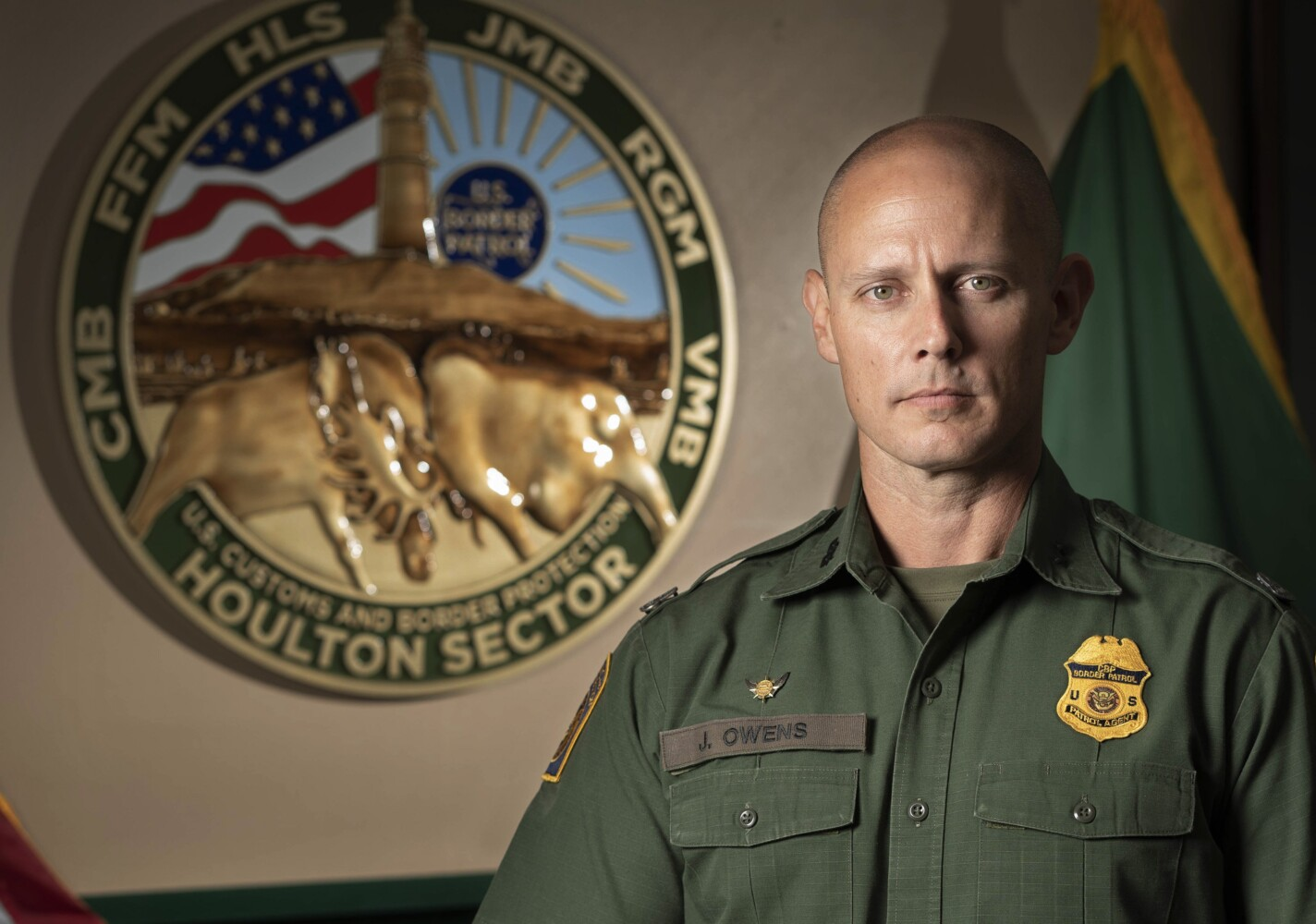 New border patrol chief explains why he uses #BuildTheWall and what his plans are for Maine - CentralMaine.com