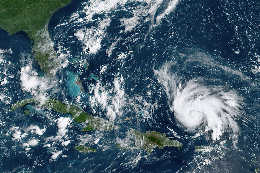 Here's What Hurricane Dorian Looks Like From Space